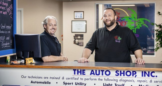 The Auto Repair Service Desk