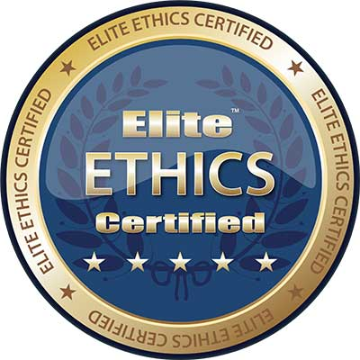 Auto Repair Ethics - Certified 5-Star Badge
