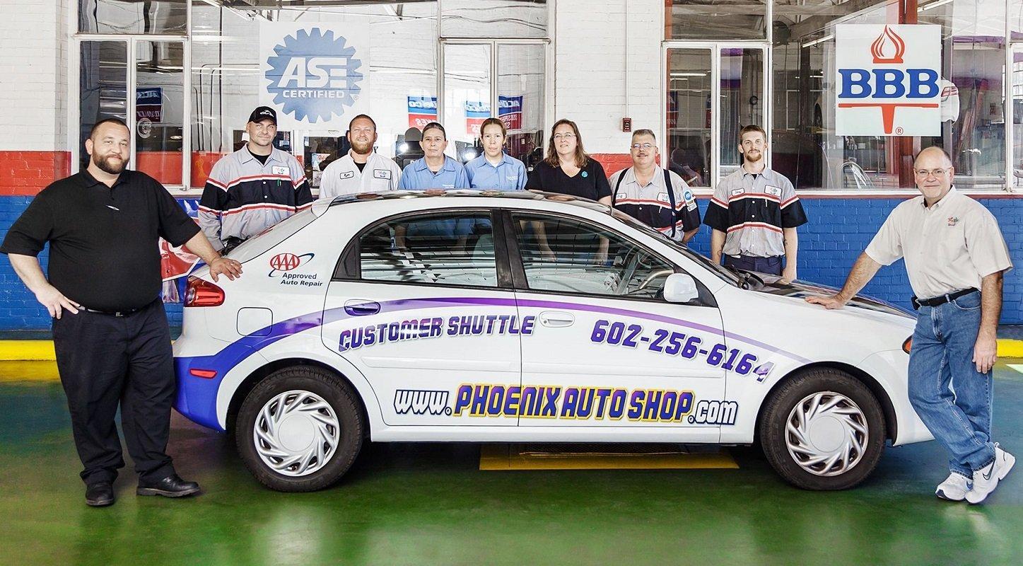 Auto Shop Phoenix repair team