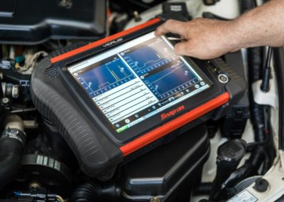 Phoenix Auto Shop Vehicle Diagnostic Scope Close Up