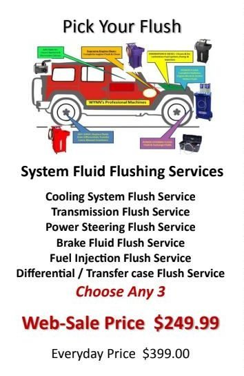 auto fluid flush coupon phoenix az