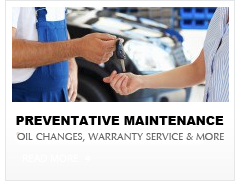 oil change phoeniz az and warranty service